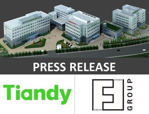 Announce of a Technology Partnership with Tiandy Technologies